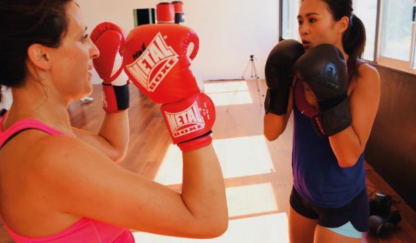 cours d'essai 1 fit boxing