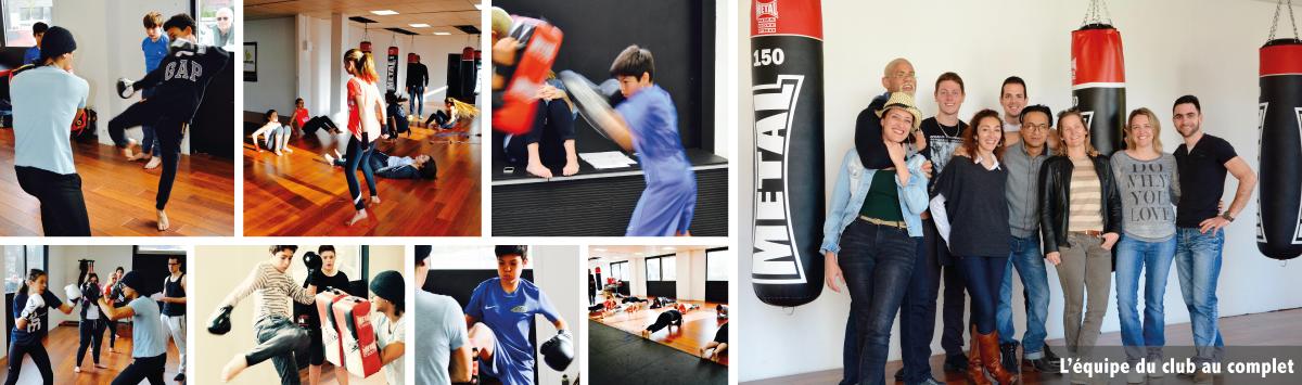 stage de boxe enfant et ados divonne