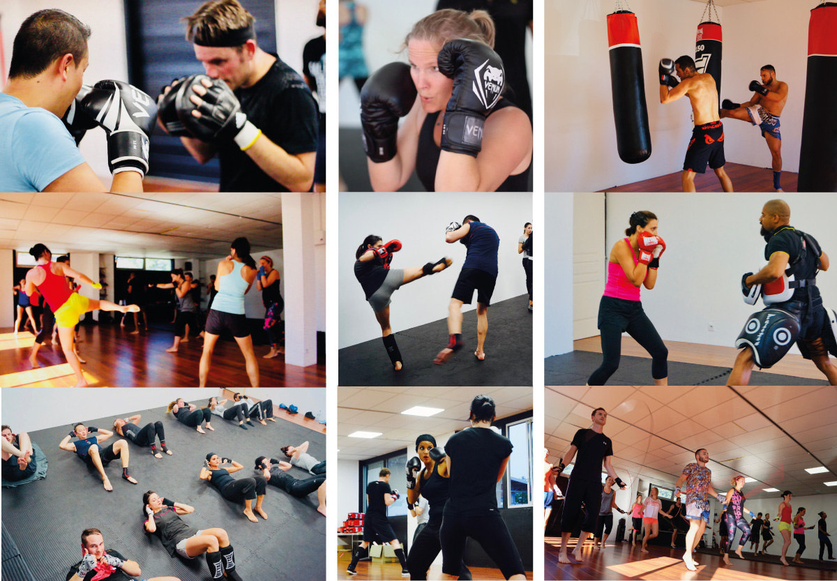 Kick Boxing - Full contact - Kick light - Low kick