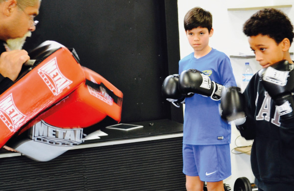 inscription kids boxing 8-14ans